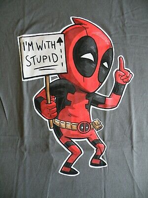 Deadpool - I'm With Stupid - Marvel T-shirt • 15.99£