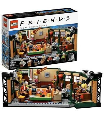 LEGO IDEAS FRIENDS TV SHOW CENTRAL PERK SET BRAND NEW! Free Shipping! • 60$