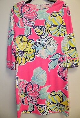 Lilly Pulitzer -  Marlowe Dress Kir Royal Pink Sweet - Medium • 29.90$