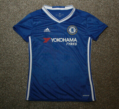 Womens Chelsea Adidas 2016 Home Jersey UK 4-6 XS Mint Condition • 15.80£