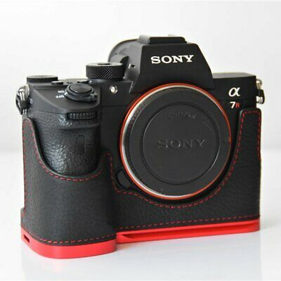 $ CDN53.91 • Buy Genuine Leather Half Bottom Case Cover For Sony A7R3 A7R Mark 3 A7RM3 A7III A9
