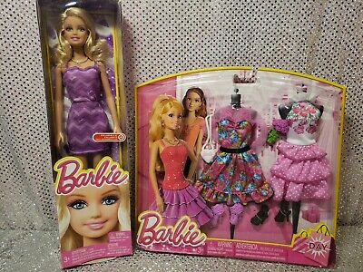 Rare Life In The Dreamhouse Doll & Outfit Barbie Fashion Set Mattel Nrfb • 19.95$