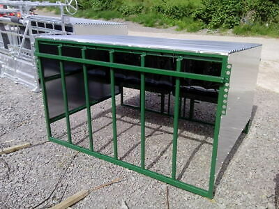 8x6' Calf Creep Feeder. Complete With Bird Flaps & 3PL . Shelter  • 801.99£