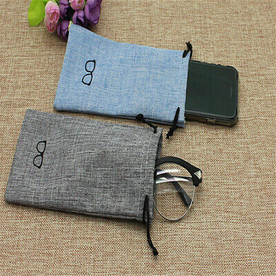 Sunglasses Glasses Spectacles Drawstring Case Pouch Bag Mobile Phone Wallet LH • 1.87£