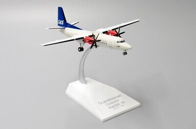 AU97.77 • Buy Jc Wings Jc2052 1/200 Scandinavian Airlines Fokker 50 Ln-rnc With Stand