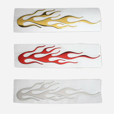 $ CDN1.20 • Buy Reflective 3D Flame Car Body Sticker Individualized Graphics Decals Accessories