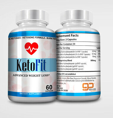 Keto Fit Advanced Weight Loss  Pure Keto Fast Ketosis Metabolic Support • 27.37$