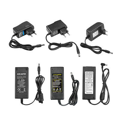 $ CDN3.79 • Buy DC 5V 12V 24V 1A 2A 3A 5A Power Supply Adapter Transformer Charger AC 110V 220V