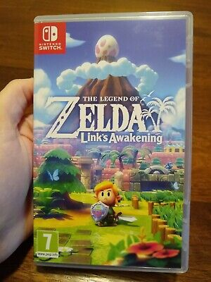 Nintendo Switch The Legend Of Zelda: Link's Awakening With Box Unsealed • 34$