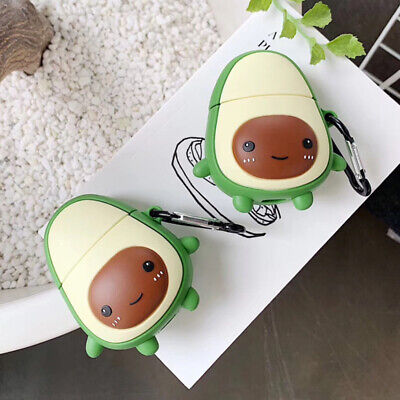 $ CDN6.30 • Buy For Apple AirPods Charging Case Avocado 3D Cute Earphone Protect Cover Silicone