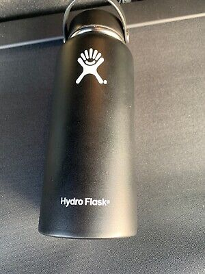 NEW 32-Ounce Wide Mouth Bottle With Flex Cap HYDRO FLASK Black Coffee Bean • 20.50$