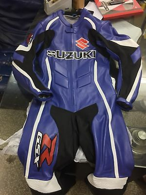$289.99 • Buy *SUZUKI *GSXR* Motorbike Leather 1PC Suit Racing Motorcycle Leather Suit