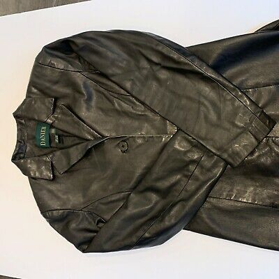 $ CDN38.05 • Buy Danier Women's Sz 4-6 Leather Jacket. Made In Canada *small Nick At Neck*