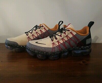 Nike Air Vapormax Run Utility Men's Sz 7.5 DESERT ORE/REFLECT SILVER AQ8810 200 • 119.95$