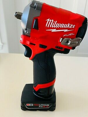 Milwaukee M12 FUEL 3/8  STUBBY Impact  2554-20 250 Ft-lbs With 1-6AH BATTERY  • 112.50$