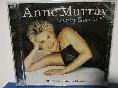 NEW - Anne Murray - Country Croonin' - 30 Classics - CD - NEW SEALED - E19-2463 • 10.50$