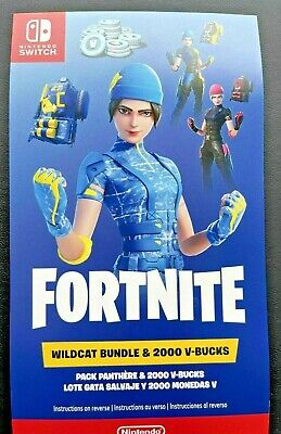 $274.84 • Buy ✅✅🎮 Fortnite Wildcat Bundle Code For The Nintendo Switch Console Lite 2000 VC✅✅