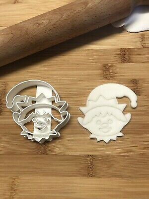 Christmas Elf Cookie Cutter Biscuit, Pastry, Fondant, Bread Cutter • 4.99£