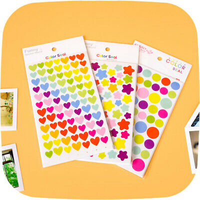 $ CDN2.48 • Buy 6Pcs/Lot Cute Colorful DIY Stickers Scrapbook Decorative Laptops Toys For Kids
