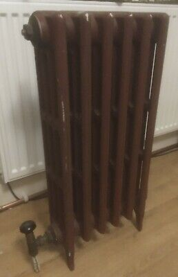 £49.99 • Buy Victorian Cast Iron Radiator 30Tall 16.5W 5wide (inches) 4-column Floor Stand
