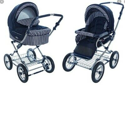 $395 • Buy Roan Kortina Classic Pram Stroller 2-in-1 With Bassinet Carriage And Seat