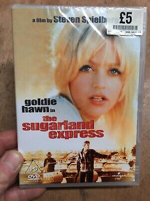 The Sugarland Express-Steven Spielberg First Film(R2 DVD)New+Sealed Goldie Hawn • 3.95£