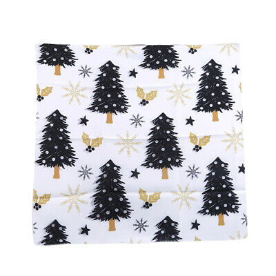 Xmas Tree Printed Table Cloth Christmas Party Decorative Tablecloth Table Cover • 4.09£