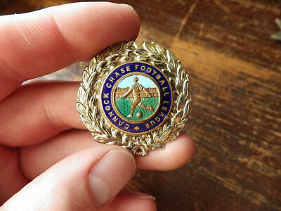 Vintage Cannock Chase Football League Badge/medal~staffordshire • 14.50£