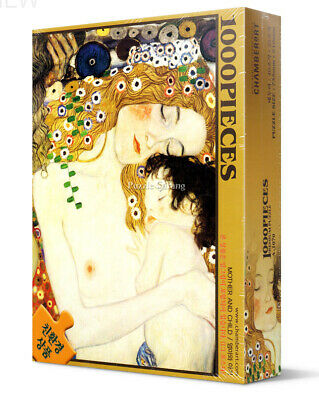 $ CDN24.04 • Buy Jigsaw Puzzles 1000 Pieces  Mother And Child  / Gustav Klimt