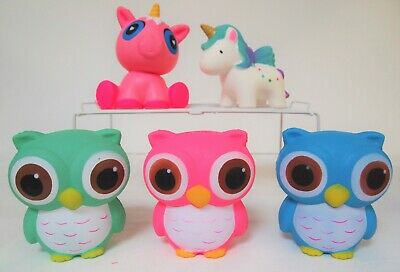 AU10 • Buy   Squishy Toys - Owl - Unicorn