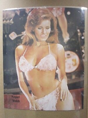 $ CDN63.43 • Buy Vintage Poster Rachel Welch Hot Girl 1979 Actress Inv#724