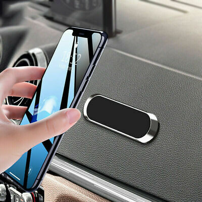 $5.43 • Buy Strip Shape Magnetic Car Phone Holder Stand For IPhone Magnet Mount Accessories
