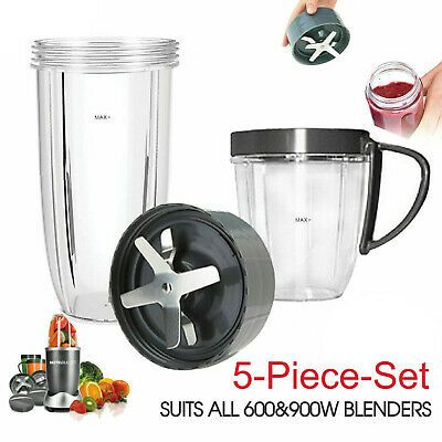 AU20.99 • Buy For Nutribullet Tall Cups Extractor Blade Lids Blender 600+900w Replacement Part
