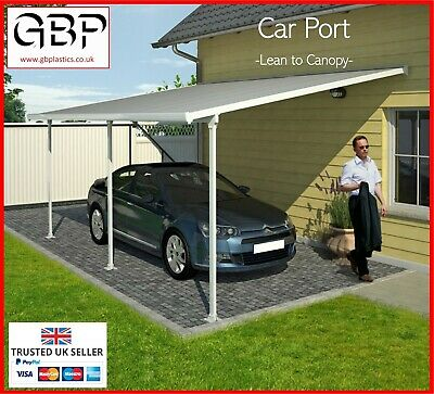 £526.85 • Buy Car Port / Car Shelter / Lean To Canopy        -Various Sizes-