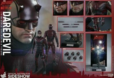 $255 • Buy HOT TOYS 1/6 Scale MARVELS Daredevil Netflix Action Figure Pre-owned