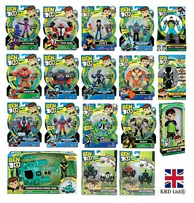 BEN 10 ACTION FIGURES Toys Kids Boys Christmas Gift Toy Xmas Stocking Filler UK • 30.22£
