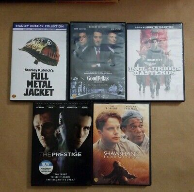 $ CDN21.69 • Buy Lot Of 5 DVDs - Critically Acclaimed Dramas