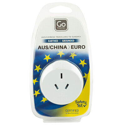 AU6.50 • Buy NEW Go Travel Adaptor Australia For Europe