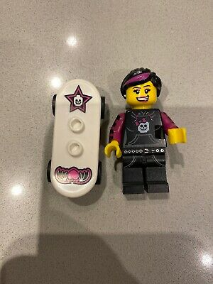 Original Lego Series 6 Skater Girl Minifigure Skateboard • 2.99£