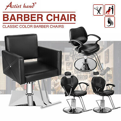 £119.99 • Buy Barber Chair 360°Swivel Adjustable Reclining Shampoo Hairdressing Salon Chairs