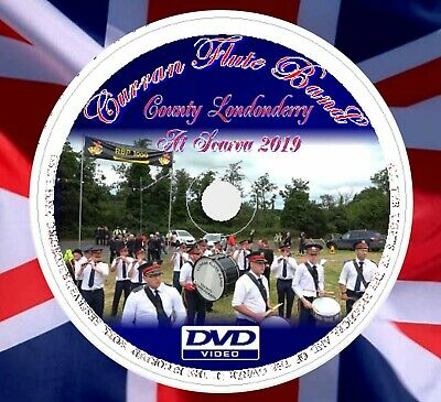 £6 • Buy APS Marching Band DVDS Curran Flute Band Co Londonderry At Scarva 2019 (15min)