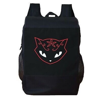 Emily The Strange Cat Backpack School Bag Travel Personalised Backpack • 16.99£