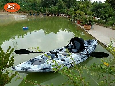 AU499 • Buy Jetocean 2.79M Single Sit On Top Fishing KAYAK With Paddle And Seat Melbourne