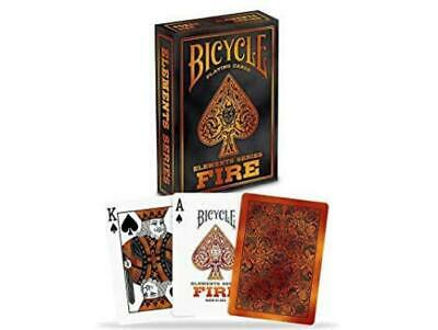 Bicycle Fire Playing Cards Poker Casino Magic Tricks Collectable Decks UK Seller • 6.49£