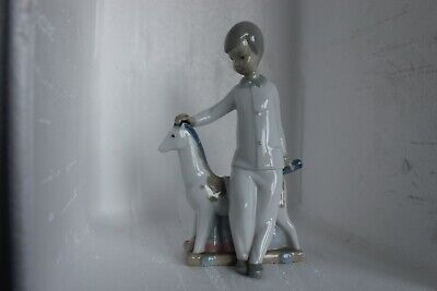Nao Young Boy With Toy Horse (B) • 25£