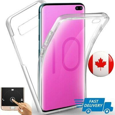 $ CDN7.99 • Buy 360 Clear Case For Samsung A70 A50 A30 S10 S9 S8 Plus Cover Silicone Shockproof