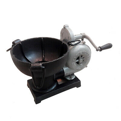 Vintage Style Antique Forge Furnace With Hand Blower Fan Pedal Type Handle • 118£