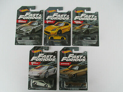 AU45.50 • Buy HOT WHEELS FAST & FURIOUS 2019-COMPLETE SET OF 5 INCL HOBBS & SHAW McLAREN 720S