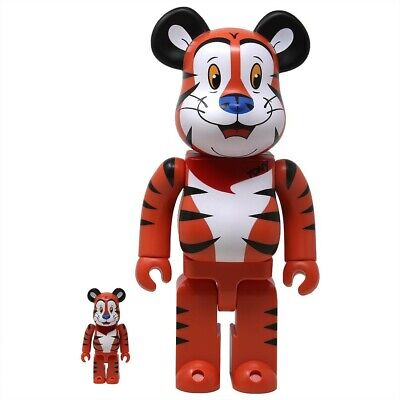 $230 • Buy Medicom BE@RBRICK Kellogg's Tony The Tiger 100% 400% Bearbrick Figure Set