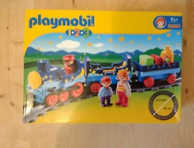 £25 • Buy Playmobil 1.2.3 6880 Night Train With Track